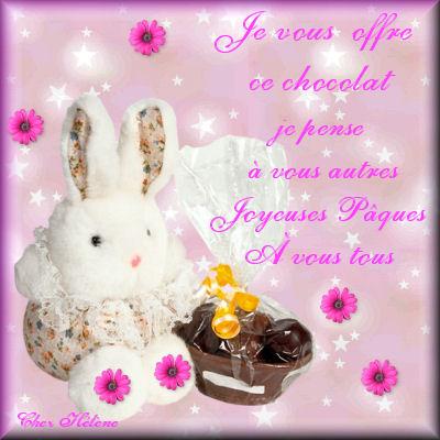 Joyeuses Pâques à vous tous